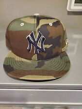 New Era Army Camouflage New York Yankees 59Fifty Fitted hat 7 5/8
