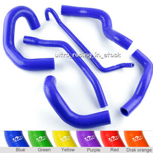 BLUE for 2006 2005 FORD MUSTANG GT / 05-10 SHELBY V8 SILICONE RADIATOR HOSE