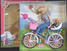NEW GLORIA DOLL HOUSE FURNITURE BICYCLE FUN (22023) FOR BARBIE