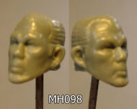"MH316 Custom Cast Sculpt part Male head cast for use with 3.75/"" action figures"