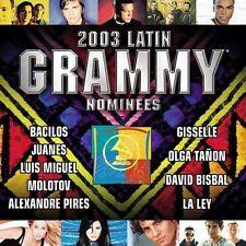 NEW Latin Grammy Nominees 2003: Latin Pop & Tropical (Audio CD)