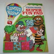Romper Room Preschool Super Fun Pad Book 1983