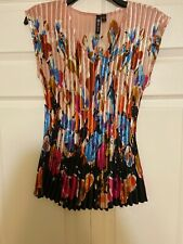 Milano Sleeveless Top  - Great With Skirts Or Pants! Size Medium