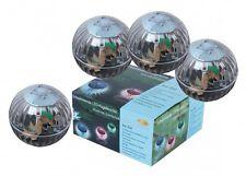 LED Schwimmleuchte Kugelleuchte Solar Teichleuchte Schwimmlicht 4er Set Garten