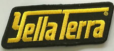 Yella Terra embroidered cloth patch.  H021003