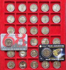 27 X 2 Euro Gedenkmünzen 2018 ohne Deutschland