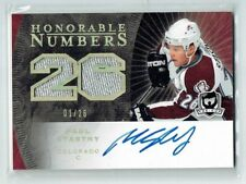 07-08 UD The Cup Honorable Numbers  Paul Stastny  1/26  First Card  Auto Patches