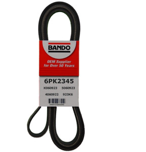 BANDO 6PK2345 Serpentine Belt-Rib Ace Precision Engineered V-Ribbed Belt