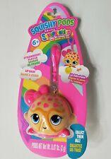 Squishy Pods Sqeezables Super Soft Squishie Toy Strawberry Flavored Lip Balm New