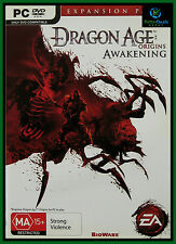 Dragon Age: Origins Awakening PC Game Expansion Pack ***New & AUS Stock ***