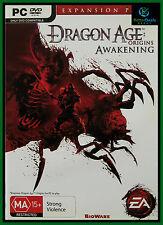 Dragon Age: Origins Awakening PC Game Expansion Pack ***New & AUS Stock ***