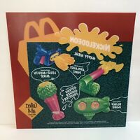Mcdonalds Nickelodeon Translite Sign Happy Meal Toys 1993 Nick