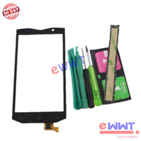 """Replacement Black Touch Screen Glass+Tools for Blackview BV8000 Pro 5.0"""" ZVLU704"""