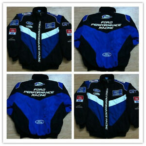 FORD Embroidery Cotton Nascar Moto Car Team Formula1 Racing Jacket Suit