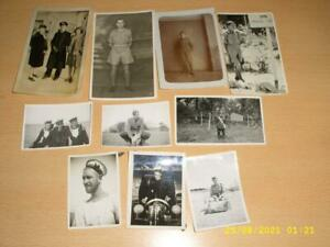 MILITARY PEOPLE  - COLLECTION  OLD PHOTOGRAPHS