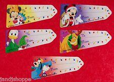 Gift tags Disney Christmas  Self-Adhesive box of 100 NIB Mickey Minnie Goofy