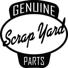 Genuine Scrap Yard Parts Vinyl Decal Sticker for Car/Window/Wall