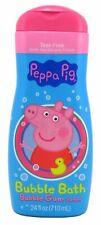 3 Pack Peppa Pig Bubble Bath 24 Oz Bubble Gum Scented