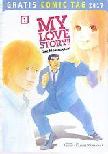 Comic - Vom Gratis Comic Tag 2017 - My Love Story - Ore Monogatari - deutsch