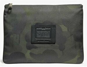 COACH 'Wild Beast Camo' Men's Large Multifunctional Printed Textile Pouch NWT!!