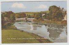 Looking North from Nungate Bridge, Haddington:~1960's (Est) Tinted Collotype PPC