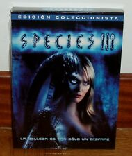 SPECIES III-EDICION COLECCIONISTA-DVD-NUEVO-PRECINTADO-SEALED-CIENCIA FICCION