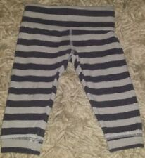 BABY GIRLS Sz 00 (3-6MTHS) Grey TARGET Striped Yoga Pants CUTE! SWEET!