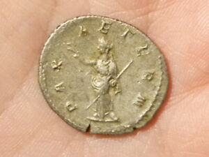 Roman PHILIP I 244-249 AR Antoninianus Silver Coin PAX S2563  #EE14