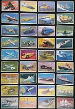 World of Speed by Embassy (Wills) 1981- A  complete set of 36 cards