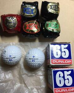 7 x Vintage Golf Balls. (6 x Dunlop &1 x Slazenger)
