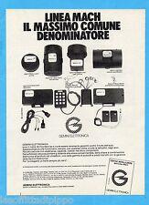 QUATTROR983-PUBBLICITA'/ADVERTISING-1983- GEMINI ELETTRONICA  (versione B)