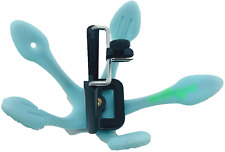 Gekkopod Universal Smartphone Mount Holder Glow N Dark Fluorescent Light Blue St