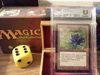 Beta BLACK LOTUS BGS Graded 8.5 Near Mint Magic The Gathering MTG 1993 Power 9!