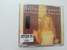 BRITNEY SPEARS from the bottom of my heart    ISRAEL israeli PROMO single CD