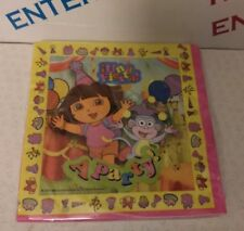 Pack 16 Dora the Explorer Party Napkins/Serviettes Birthday/Any Occasion