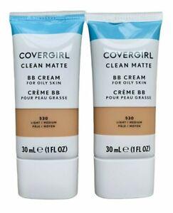 COVERGIRL Clean Matte BB Cream For Oily Skin 530 Light/Medium (SET OF 2)