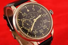 Vintage military style WAR2 WW2 USSR vs Germany Pilot's watch LACO