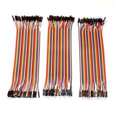 120 pcs - 20 cm - Dupont Breadboard Jumper Cables - MM MF FF