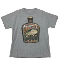 Harley Davidson Kentucky Louisville Tee T-Shirt Mens M Medium Gray Short Sleeve