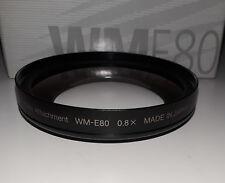 Nikon WM-E80 Wideangle Converter Attachment (BRAND NEW!)