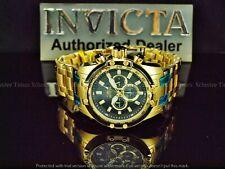 Invicta Men 50mm Scuba Speedway Chronograph Glass Carbon Fiber Gold Tn SS Watch