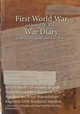 48 Division 143 Infantry Brigade Royal Warwickshire Regiment 1/7th Battalion...