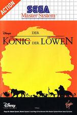 ## SEGA Master System - König der Löwen: Disney´s Lion King - TOP / MS Spiel ##
