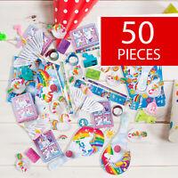 Unicorn Party Favor Assortment - Giveways, Parades, Prizes - 50 Pieces