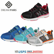 DREAM PAIRS Kids Boy Girl Fashion Sneakers Mesh Upper Outdoor Indoor Sport Shoes