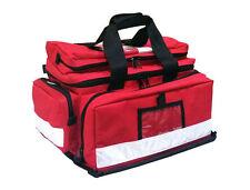 First Aid Bag Trauma Bag - Red - (49cm x 30cm x 28.5cm)
