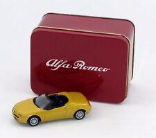 modellino da collezione ALFA ROMEO SPIDER GIALLA 1995 SOLIDO 1/43