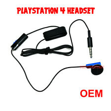OEM Headset Earbud Microphone Earpiece Clip Original For Sony Playstation 4 PS4