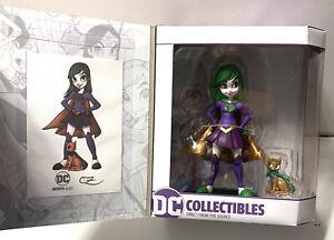 "DC Artists Alley SUPERGIRL Chrissie Zullo Team Joker GameStop Exclusive 7""Figure"