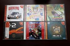 Sega Dreamcast Sega Rally+Pop Music+Get Bass+Shutokou Battle JP DC 6 games lots